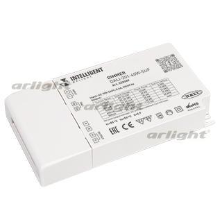 028089 INTELLIGENT. ARLIGHT Dimmer DALI-201-40W-SUF (230 V, 350-1400mА [Plastic] Box-1 Pcs ARLIGHT-Управление Light ^ 80