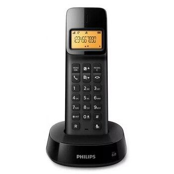 "Wireless Phone Philips D1601B/01 1,6"" 300 mAh GAP Black"