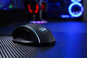 Image 5 - Redragon M720 แวมไพร์ RGB Gaming Mouse, 10,000 DPI เมาส์สำหรับเล่นเกมแบบมีสาย,ERGONOMIC Grip สบาย MACRO