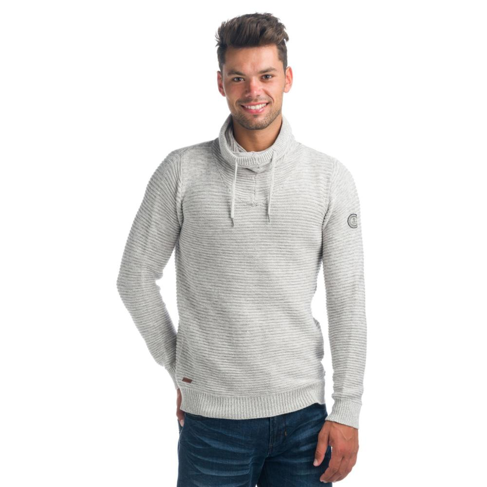 KOROSHI JERSEY TURTLENECK EFFECT HEATHER MAN