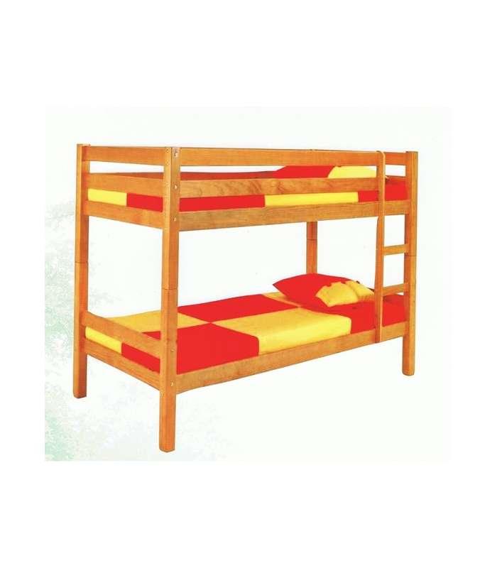 Wood Bunk For Juvenile Bedroom
