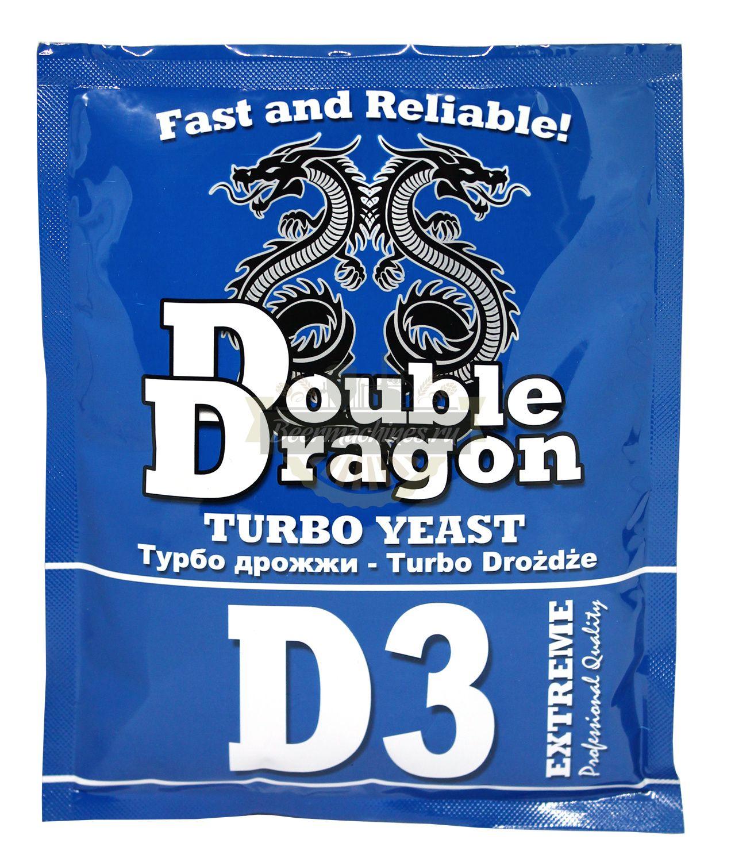 Turbo Yeast DoubleDragon D3, 92g