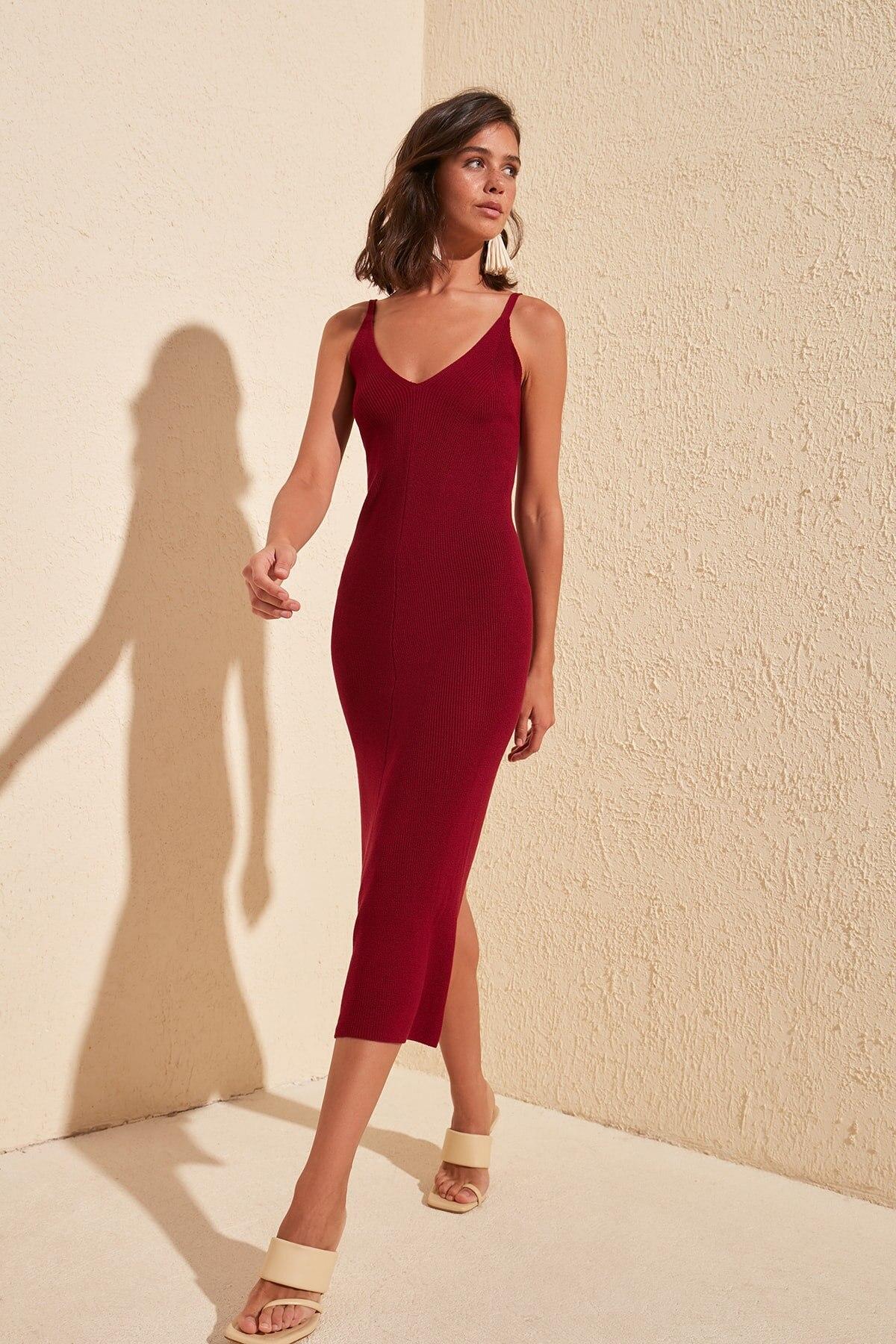 Trendyol Classic Knitwear Dress TWOSS20EL1574