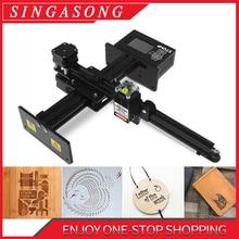 Grabadora láser CNC de 20W y 7000mw, máquina de grabado láser, Mini impresora portátil de grabado láser para el hogar, cortador de grabado láser DIY