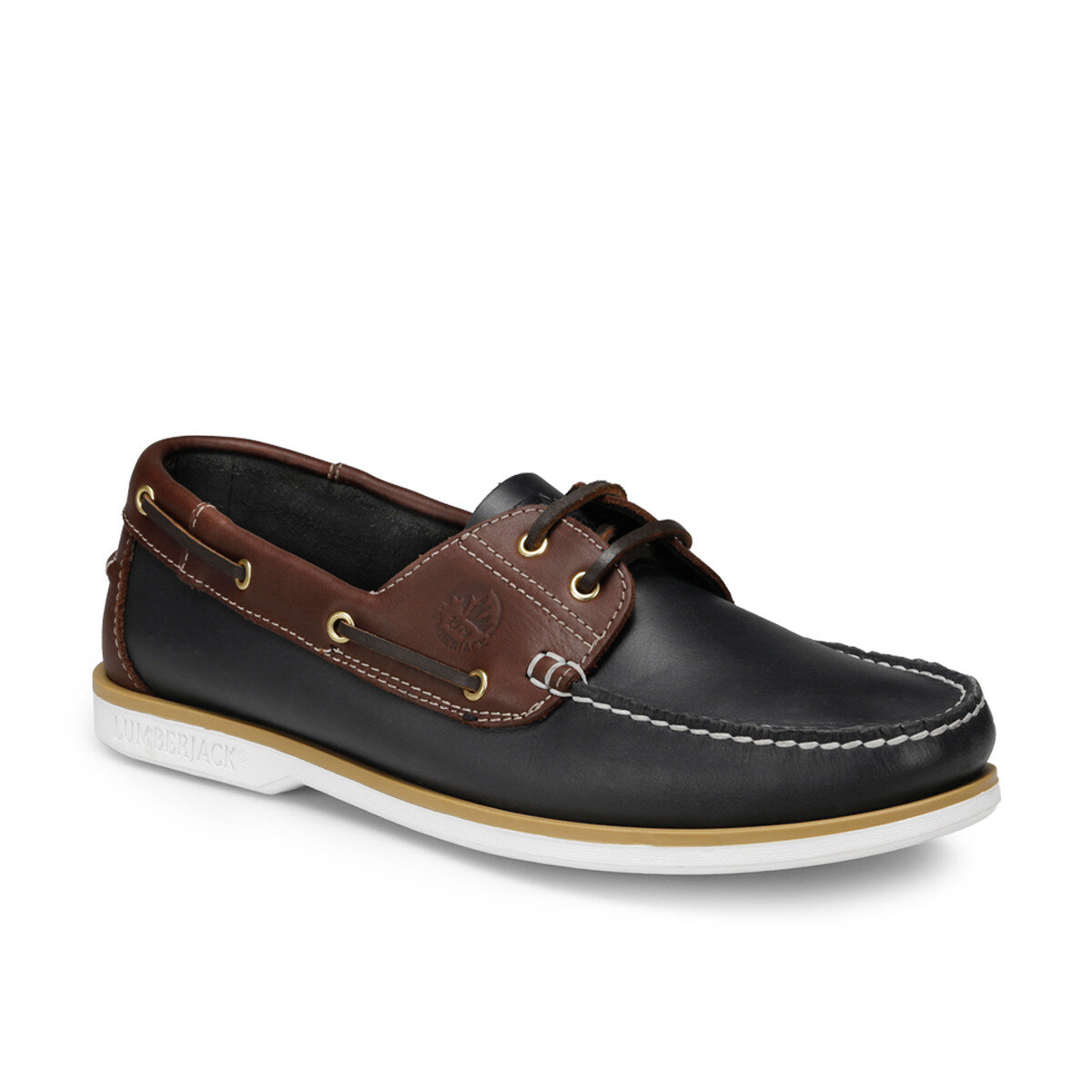 FLO NAVIGATOR Navy Blue Men 'S Shoes LUMBERJACK