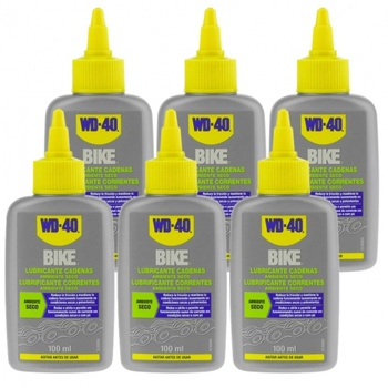 WD-40 Bike-bicycle chain lubricant for dry environment Pack 6-dropper 100ml wd 40 bike pack 6 pcs total bicycle cleaner sprayer 500ml