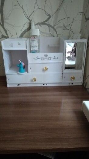 Cestos e caixas de armazenamento Maquiagem Cuidados Cuidados