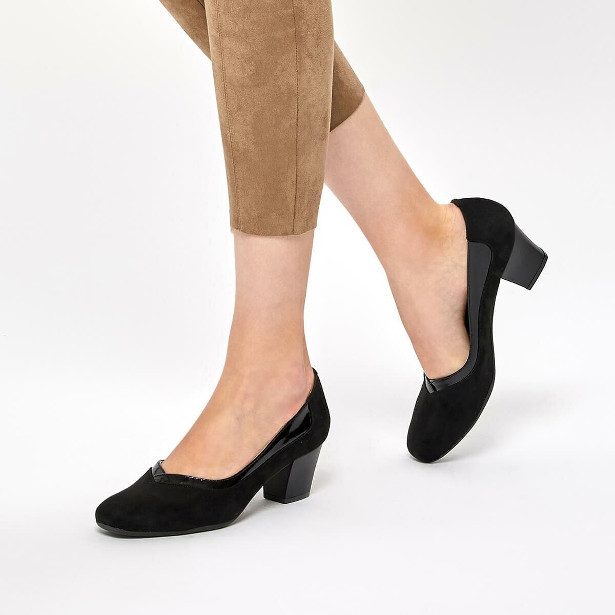 FLO 92.314064.Z Black Women Gova Shoes Polaris