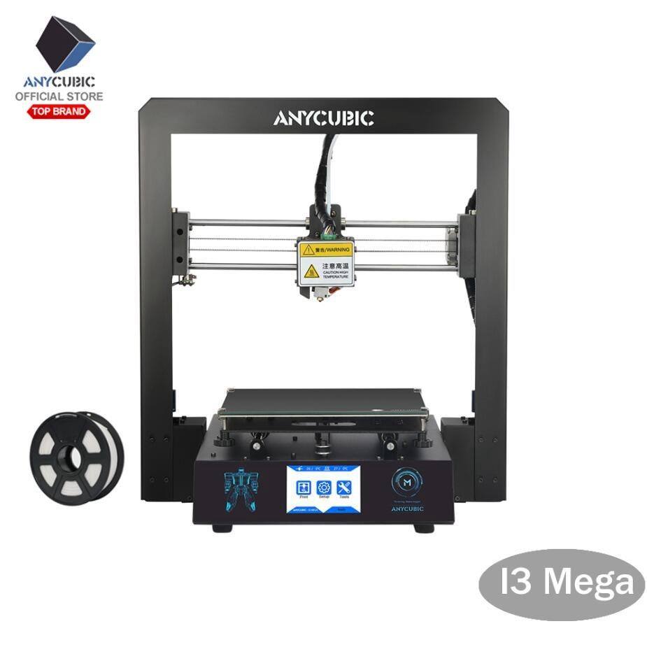 ANYCUBIC I3 Mega 3D Printer Large Plus Size Full Metal Impresora 3D TFT Touch Screen 3d Printer High Precision 3D Drucker