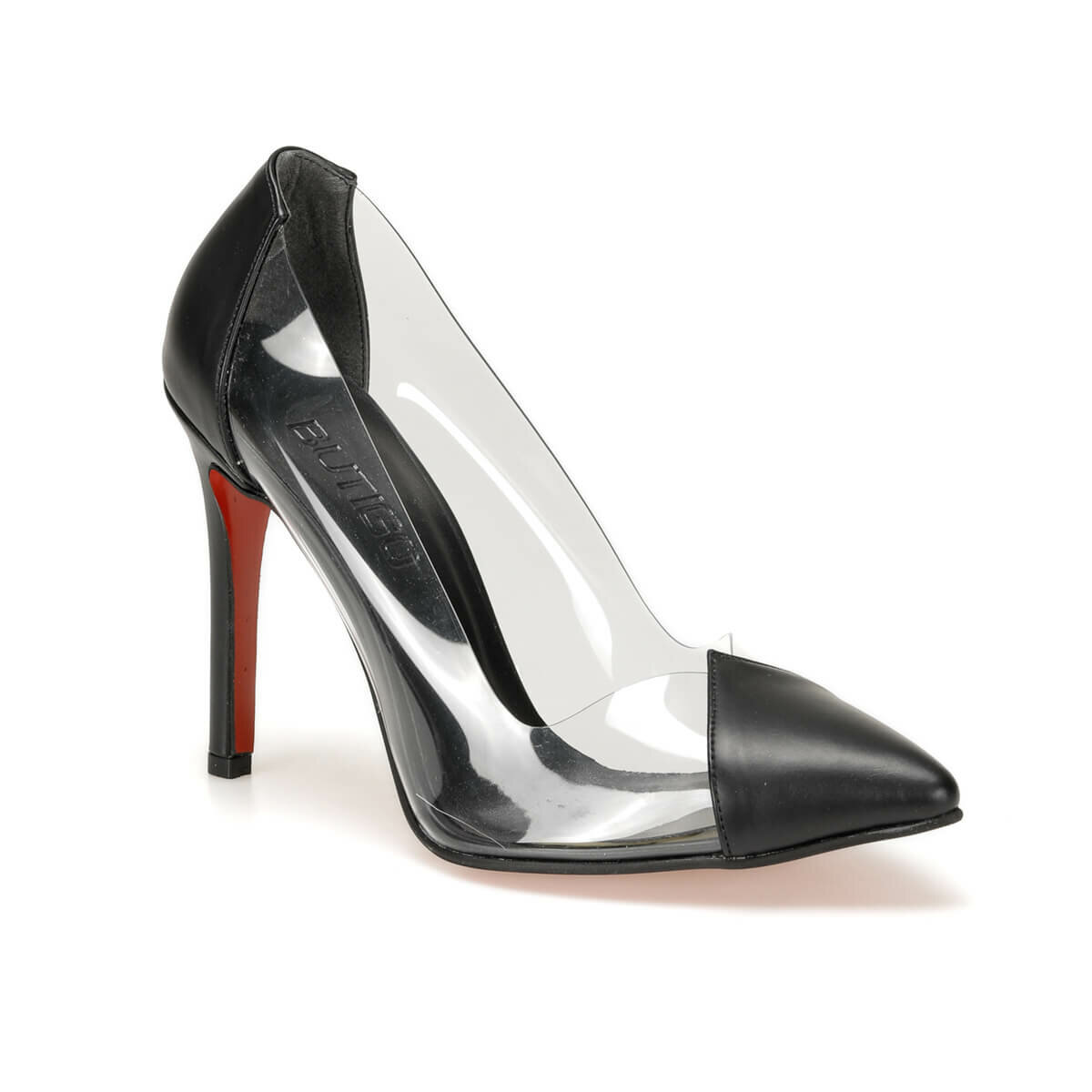 FLO LARKIN85Z SKIN Black Women Stiletto BUTIGO