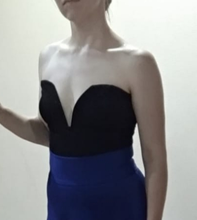 Sexy Sweetheart Bustier Bodysuit Sleeveless Backless Plain Rompers With Lining Summer Skinny Bodysuit photo review