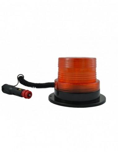 JBM 52827 ROTATING Warning Light FLASHING ROTARY LOW PROFILE-AMBER