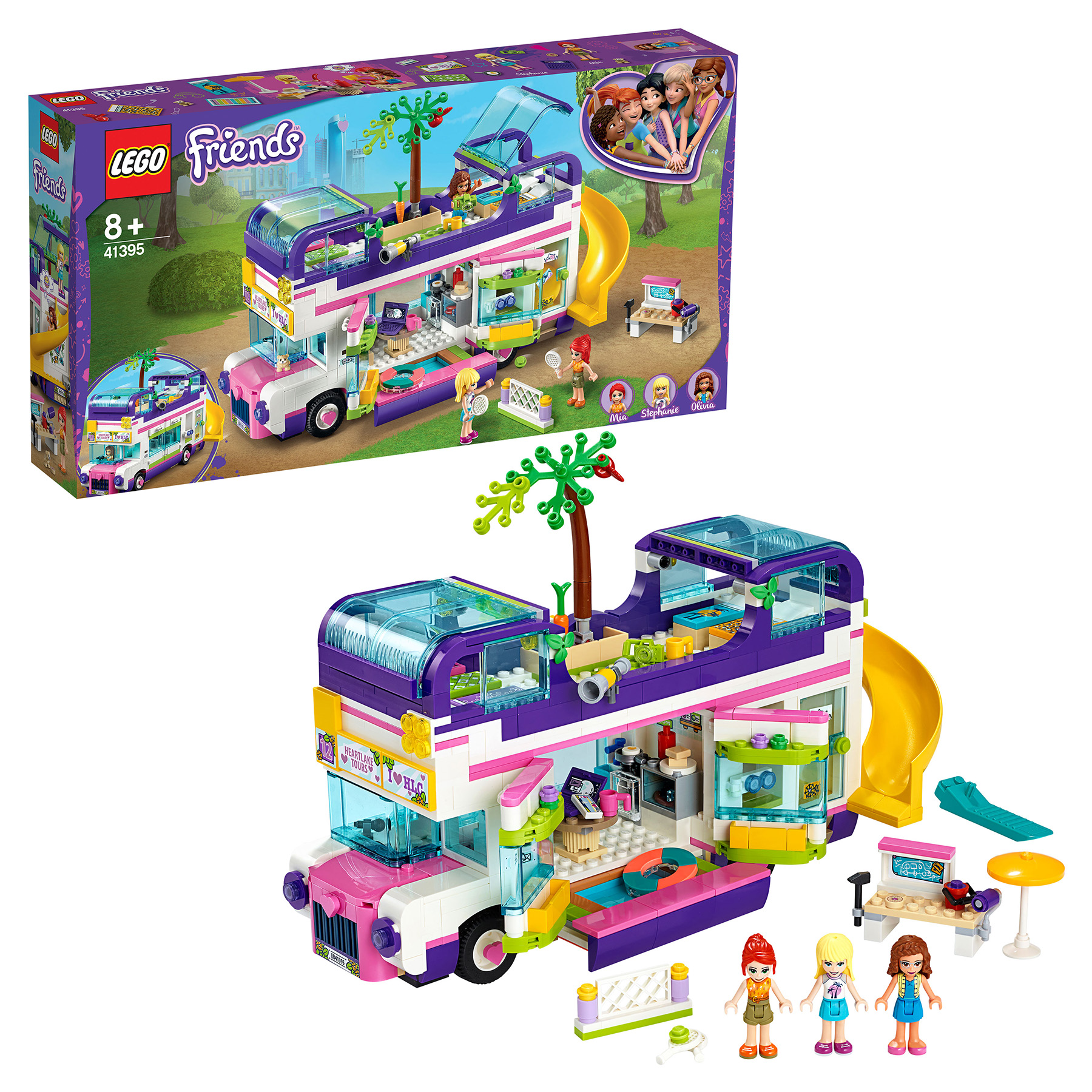Designer Lego Friends 41395 Bus For Friends