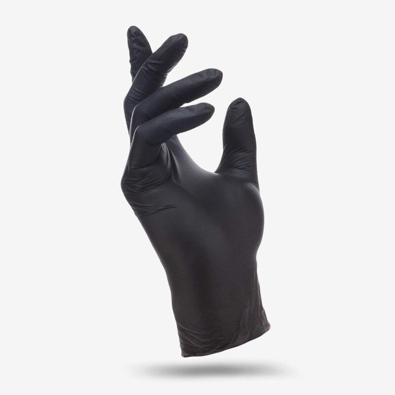 Benovy, guantes de nitrilo, sin polvo, 50 pares - 6