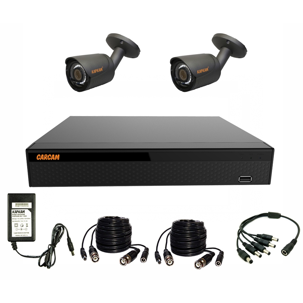 Ready Set CCTV Carcam Video Kit 2m-6
