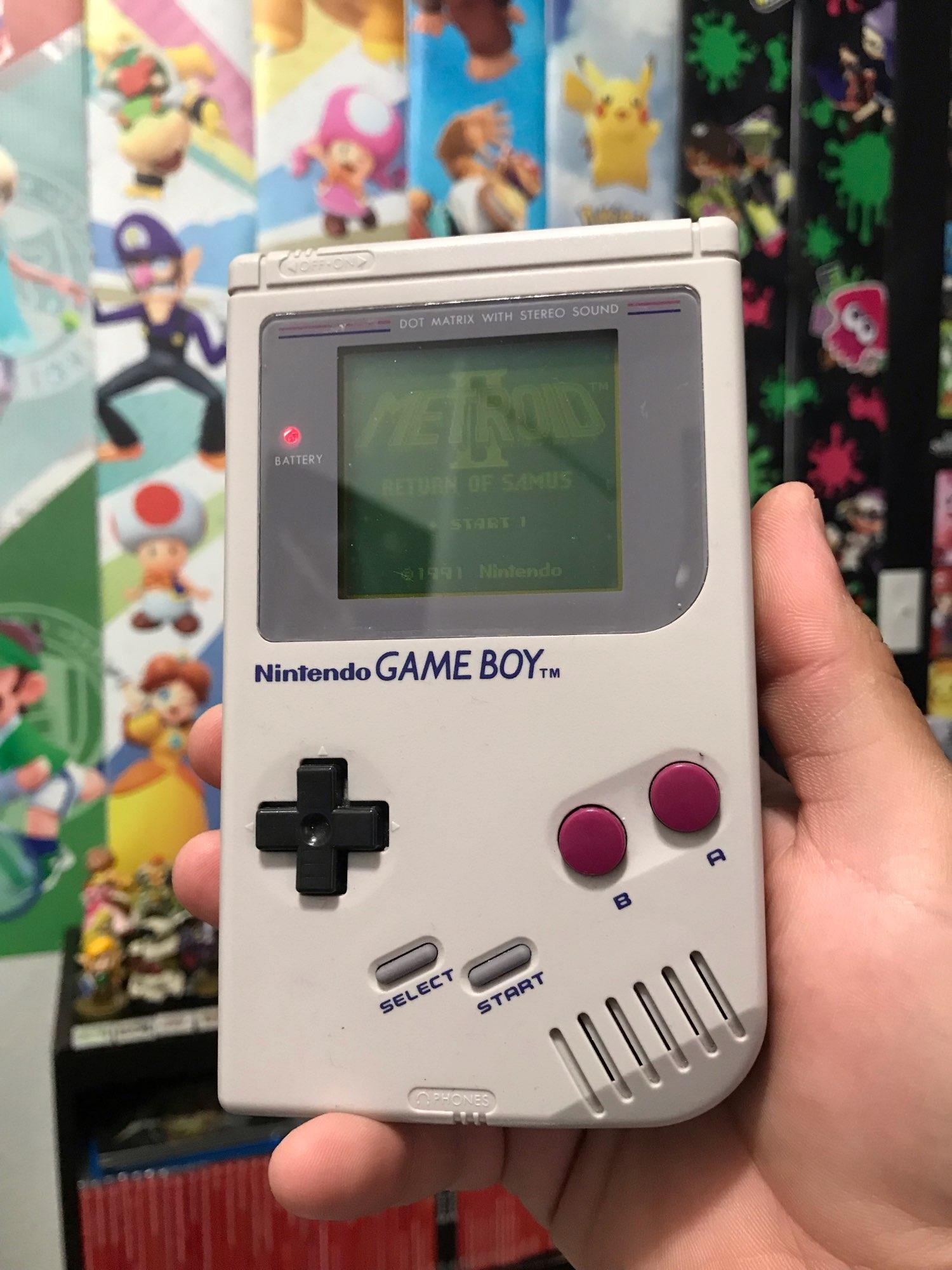 For Nintendo GBC Video Game Cartridge Console Card Metroi 2 English Language Version photo review