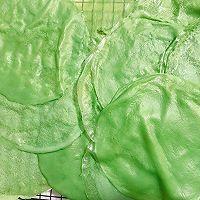 爽口清新的抹茶毛巾卷的做法图解17