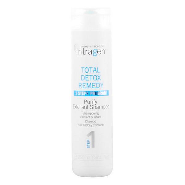 Exfolirating Shampoo Intragen Total Detox Remedy Revlon (250 Ml)