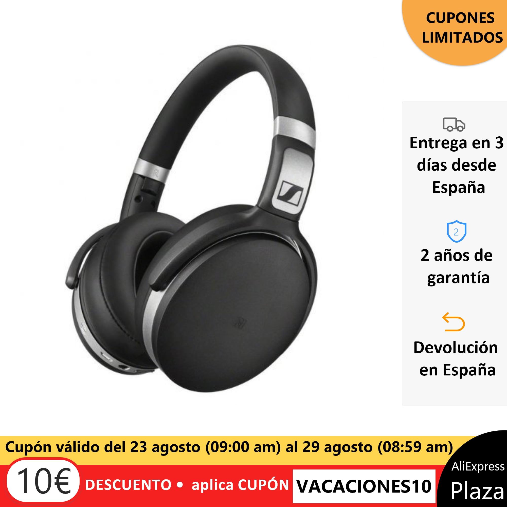Sennheiser headphones BLUETOOTH HD 4 50 BTNC BLACK headset closed Original AliExpress square Spain