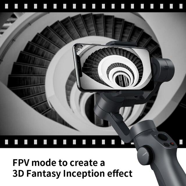 Funsnap Capture2 3 Axis Handheld Gimbal Stabilizer For Smartphone Samsung Iphone X XR 8 7 Gopro Camera Action EKEN 1 Gimbal Kit 3