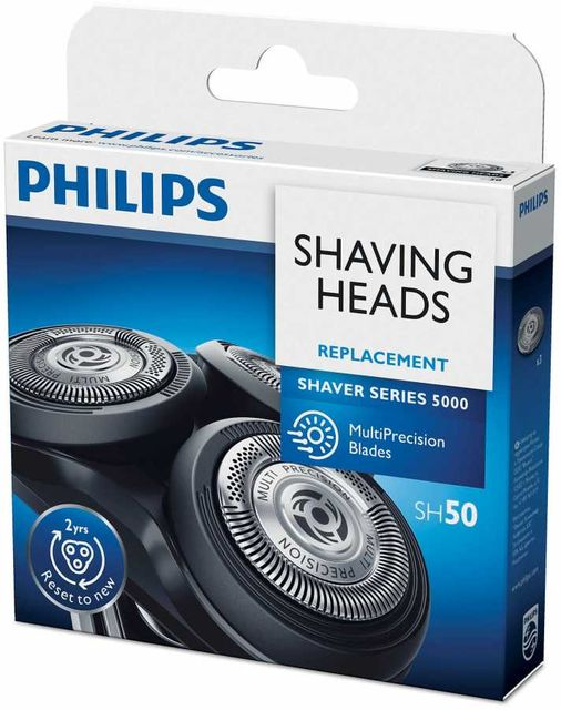 Original Philips Norelco Replacement Head For Series 5000 Shavers, SH50/52