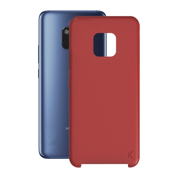 Mobile cover Huawei Mate 20 Pro KSIX Soft Red|  - title=