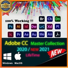 Adob Créatif Cloud Master Collection 2021 For Win / Mac
