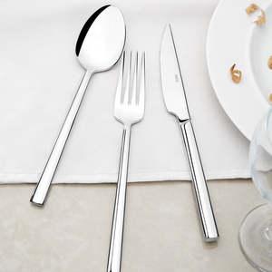 Nehir Set Dinner-Set 36pieces Tableware Knife-Fork Cutlery Stainless-Steel Lunchbox Classic