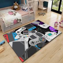 Прямая поставка, Мультяшные детские ковры, нескользящий ковер для гостиной, коврик для обучения, впитывающие моющиеся коврики для зоны 120x160 ...