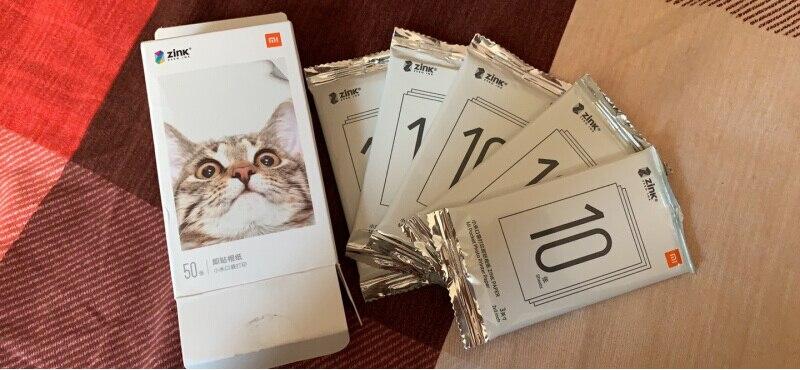Xiaomi Bluetooth Printer ZINK Print 300dpi AR Photo Portable Mini Pocket Printer DIY Photo Paper Printers For iphone Android Printers    - AliExpress