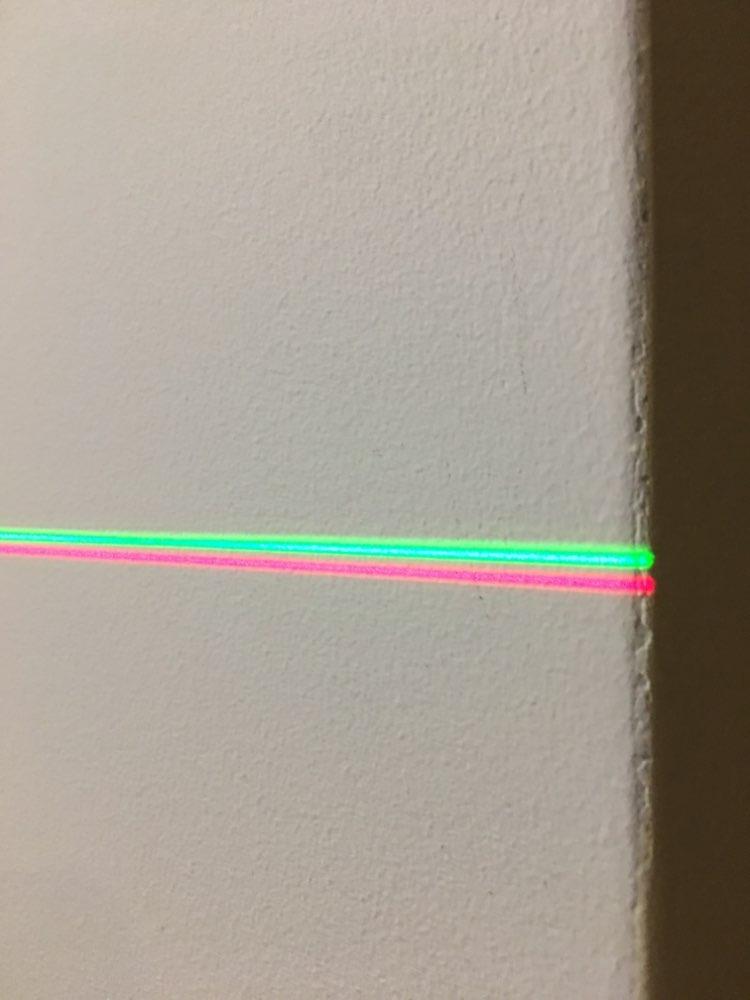 Níveis de laser Horizontal Vertical Poderoso