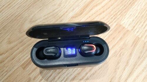 5.0 Bluetooth Earphone Wireless Bluetooth Headset Stereo Ture Wireless Earbuds Sport Earphones with Led Display IPX5 Waterproof|Phone Earphones & Headphones| |  - AliExpress