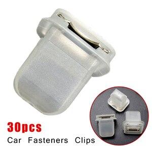 Image 5 - 30Pcs Auto Interieur Trim Moulding Klemmetjes Fasteners Clip Voor Bmw E38 E39 E60 Auto Clips Fasteners Met Metalen insert