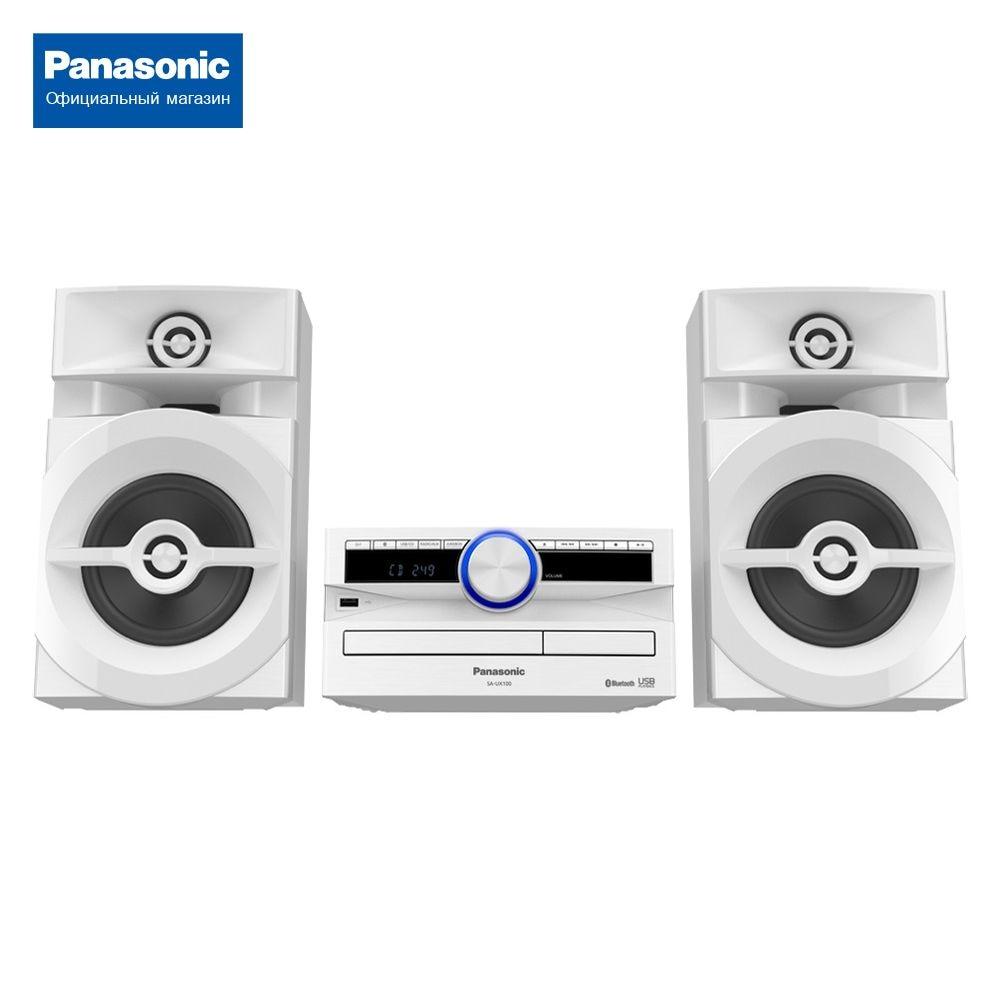 Минисистема Panasonic SC-UX100EE-W минисистема panasonic sc hc19ee w