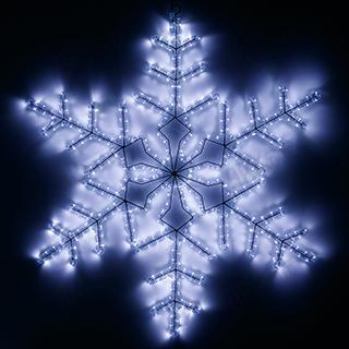 025306 Figure ARD-SNOWFLAKE-M3-920x920-432LED White (230V 30 W) ARLIGHT 1-pc
