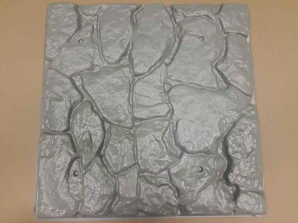 """חדש פלסטיק תבניות פלסטיק צורות, פלסטיק 3D דקורטיבי קיר פנלים """"רוק"""" עבור גבס, מחיר עבור 1pcs ייחודי עיצוב"""