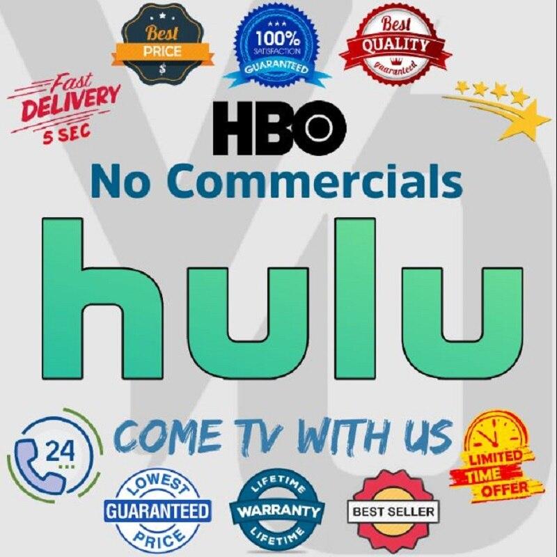 Hulu account 12 month Works On PCs Smart TVs Set t