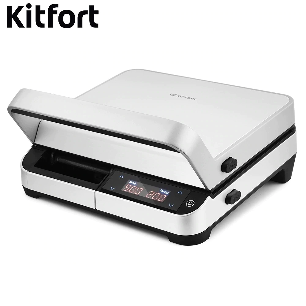 Electrical Grill Kitfort KT-1639 Electrical Grill KITFOR home kitchen appliances Lazy barbecue Grill electric