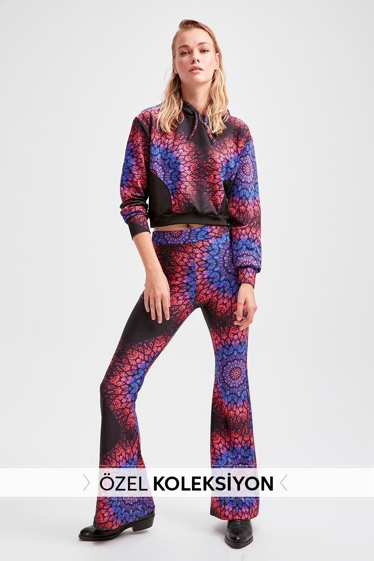 Trendyol Multicolour Submersible Fabric Knitted Pants TWOAW20PL0366
