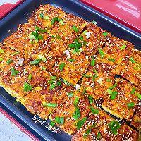 平底锅版铁板脆皮豆腐,赛过路边摊的做法图解11
