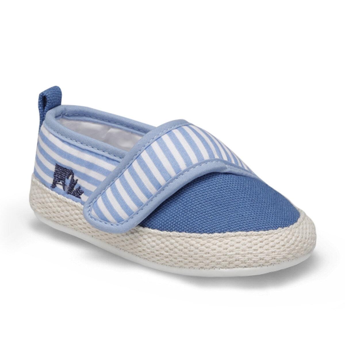 FLO MONEY Blue Male Child Sneaker Shoes LUMBERJACK