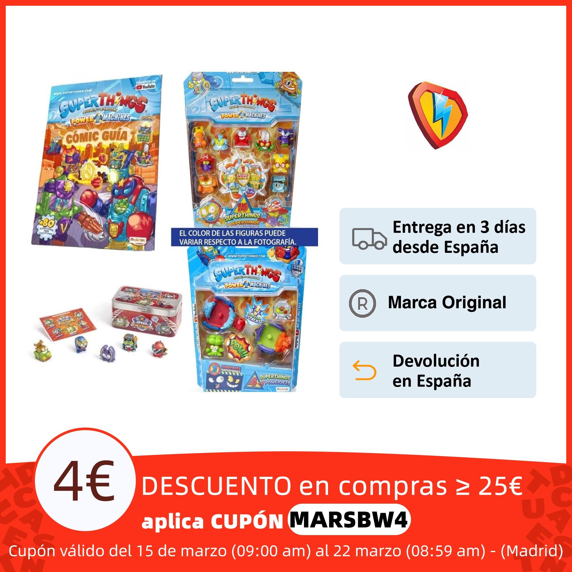 SuperThings Pack 4 Para Inciar Su Coleccion(Nuevos Superzings De Series 7) Figuras de acción  - AliExpress
