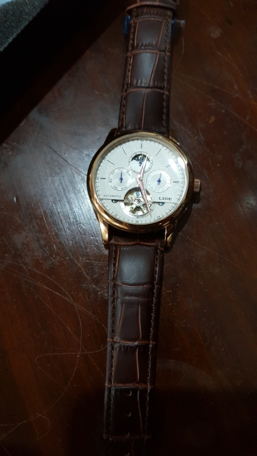 -- Relógio Mecânico Tourbillon