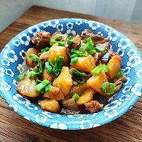 红烧牛蛙土豆的做法图解7