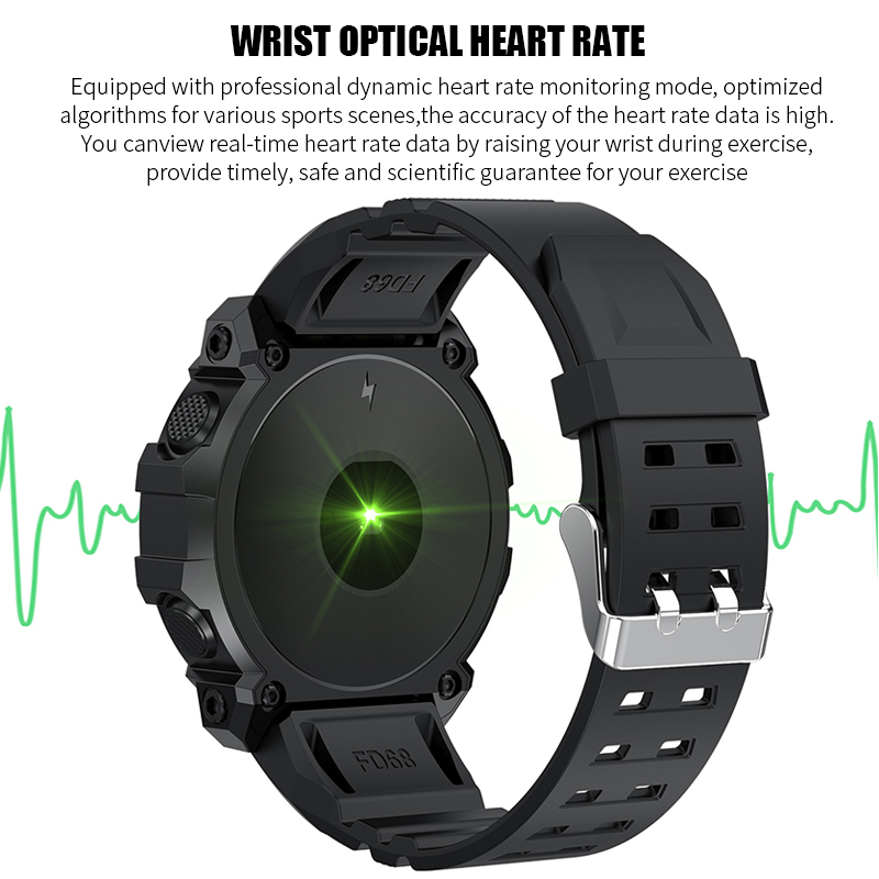 Newest Smart Watch Men Android Sport Waterproof  Bluetooth Pedometer Heart Rate Monitor Smartwatch Lady Fitness Bracelet Watches