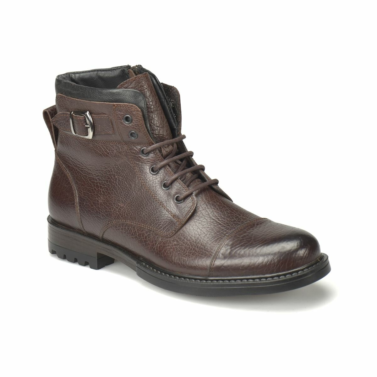 FLO GRANT Brown Men Boots MERCEDES