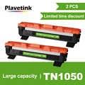 Cartouche de Toner noire Plavetink TN1050 Compatible pour imprimantes Laser Brother HL-1110 1210 MFC-1810 DCP-1510 DCP-1610W