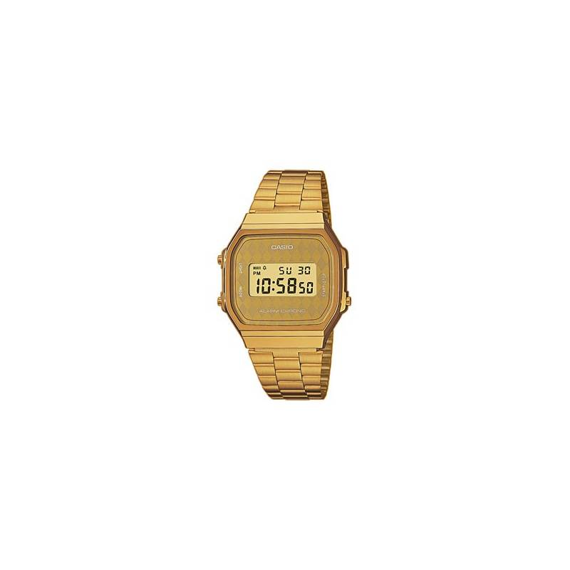 Retro Casio Watch Vintage Gold Tone A168WG-9BWEF Official