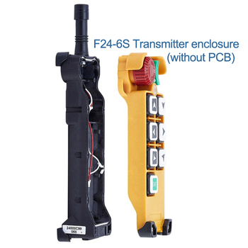 Telecontrol crane industrial remote control F24-6s F24-6D  transmitter emitter enclosure box