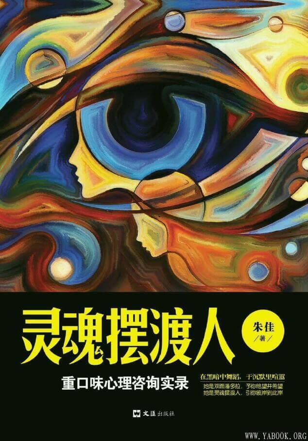 《灵魂摆渡人:重口味心理咨询实录》封面图片
